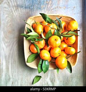 basket of oranges - Stock Image