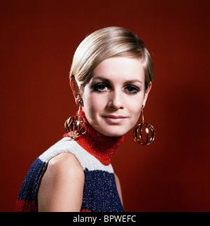 TWIGGY MODEL & ACTRESS (1968) - Stock Image