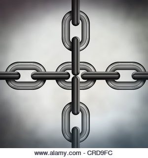 chain links - Stock Image
