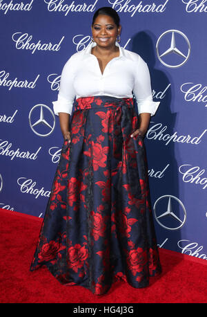 January 3rd, 2017 - Palm Springs  Octavia Spencer attends the 28th Annual Palm Springs International Film Festival - Stock Image
