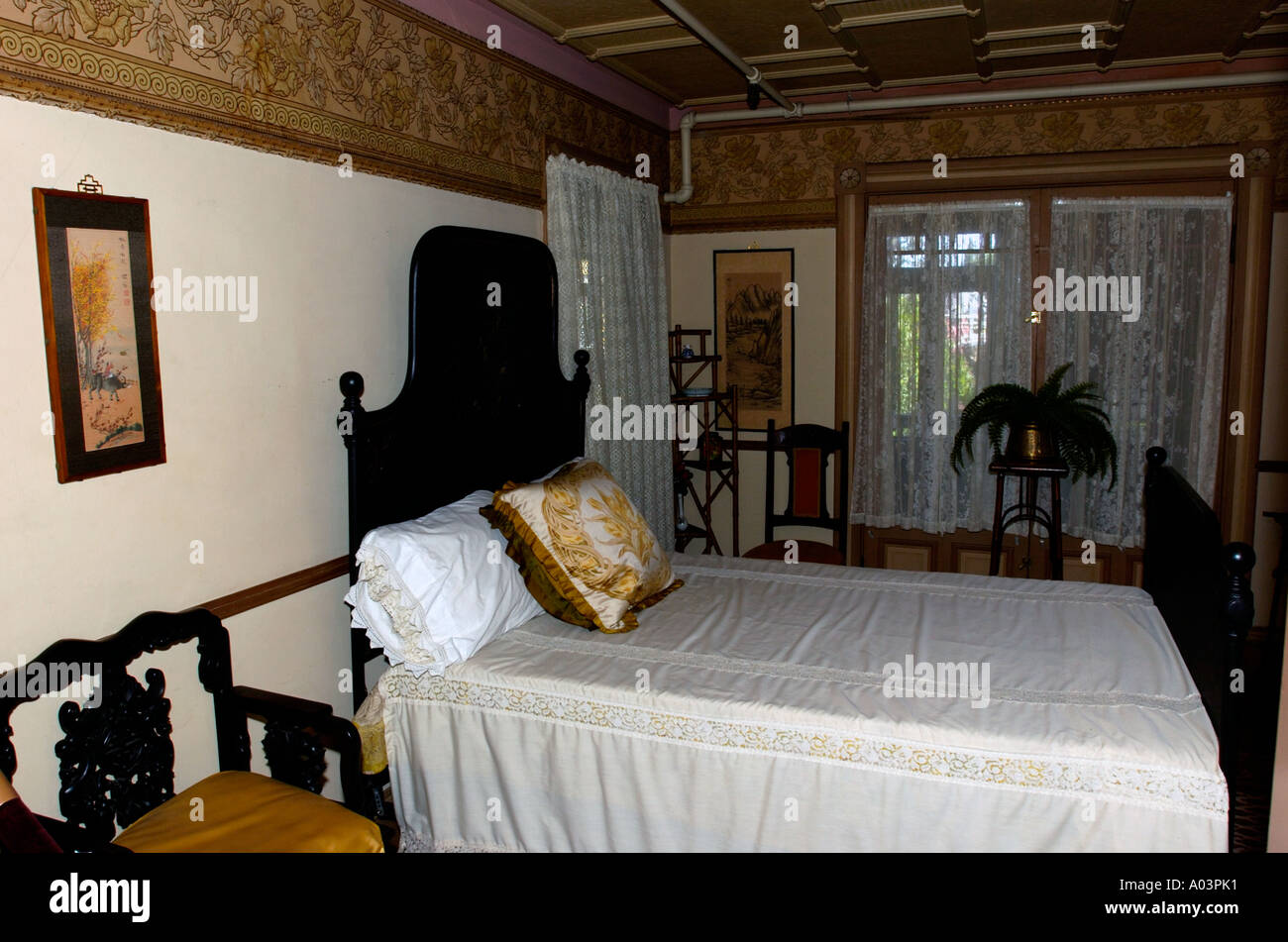 Sarah Winchester Bedroom Inside Winchester Mystery House San Jose