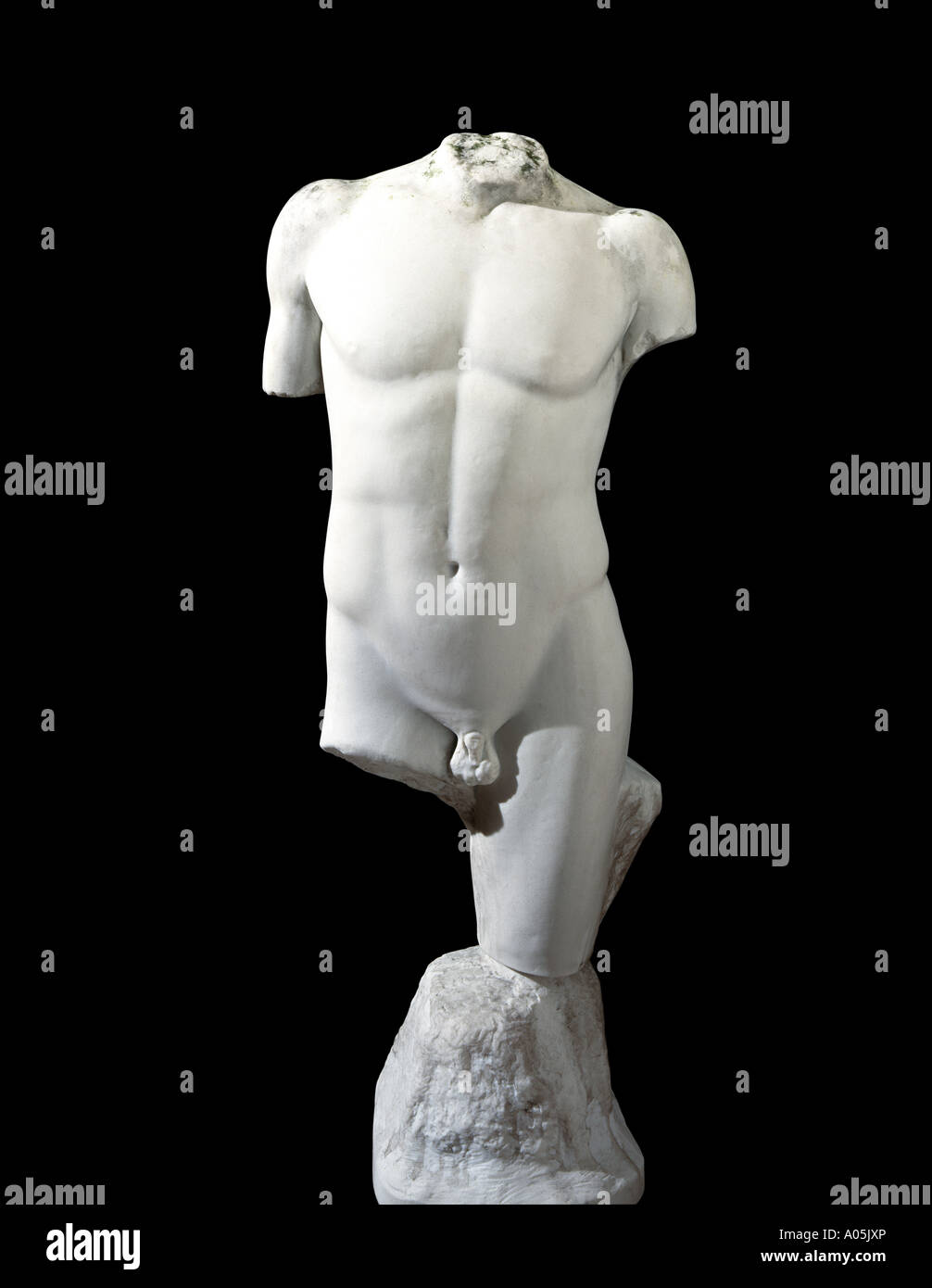 A classical marble statue - Stock Image