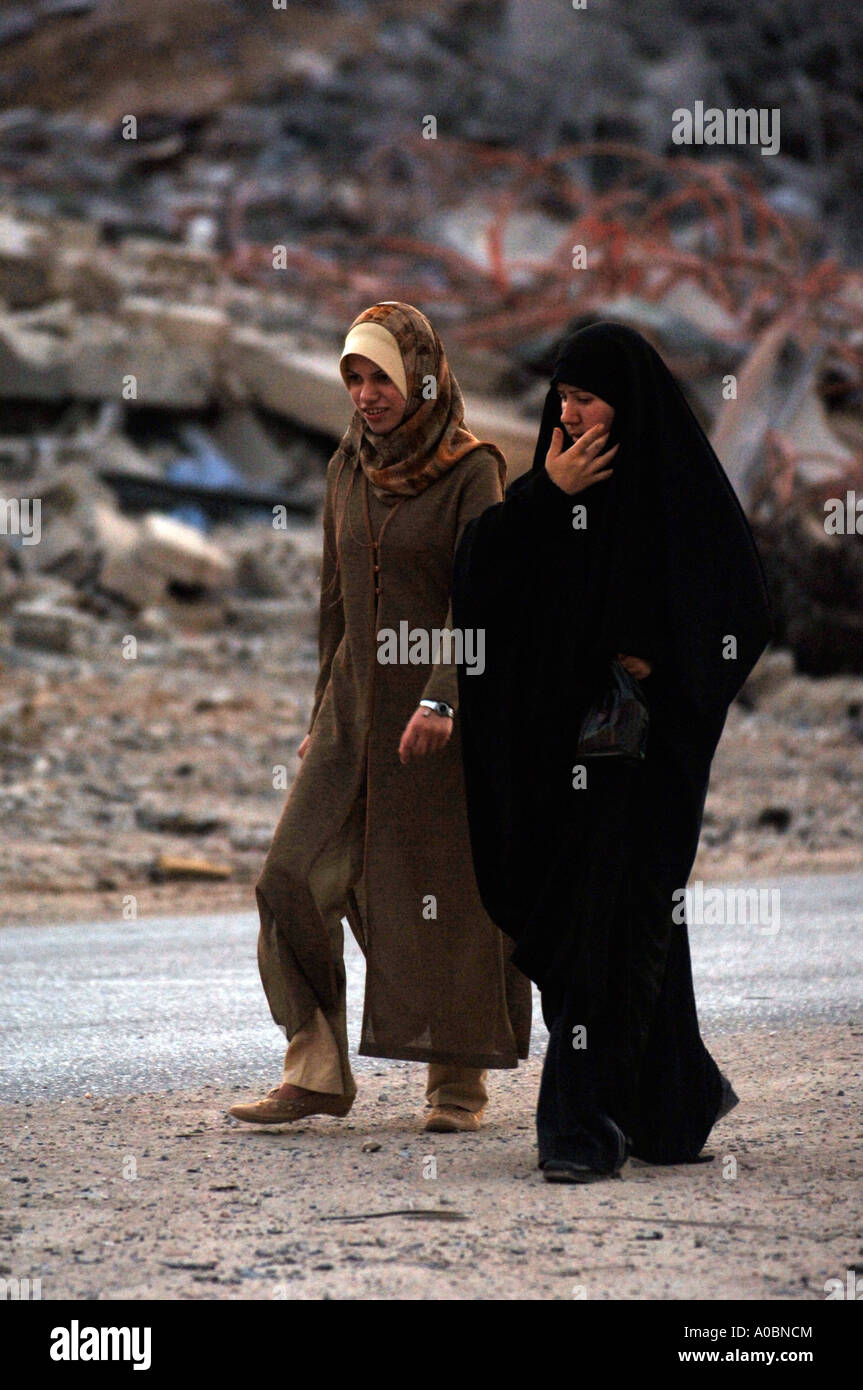 Images from the aftermath of the 2006 conflict that ensued between Israel and Hezbollah in Bint Jbeil, Southern - Stock Image