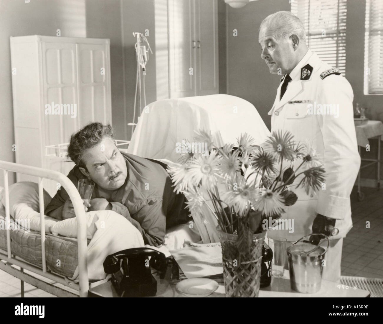 The Roots Of Heaven Year 1958 Director John Huston Orson Welles Based upon Romain Gary s book Stock Photo
