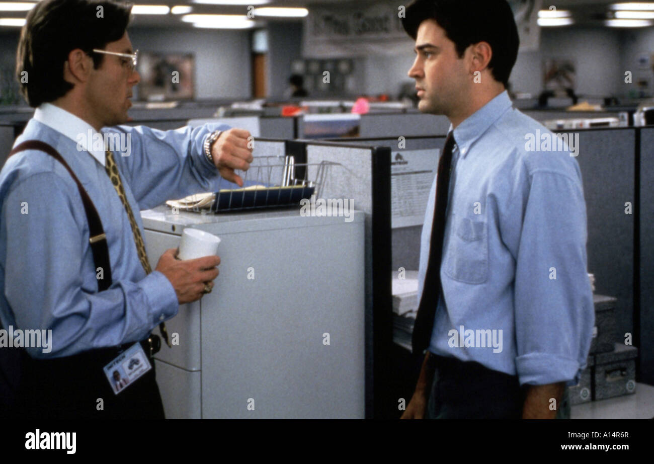 Office Space Year 1999 Director Mike Judge Ron Livingston Gary Cole Stock Photo