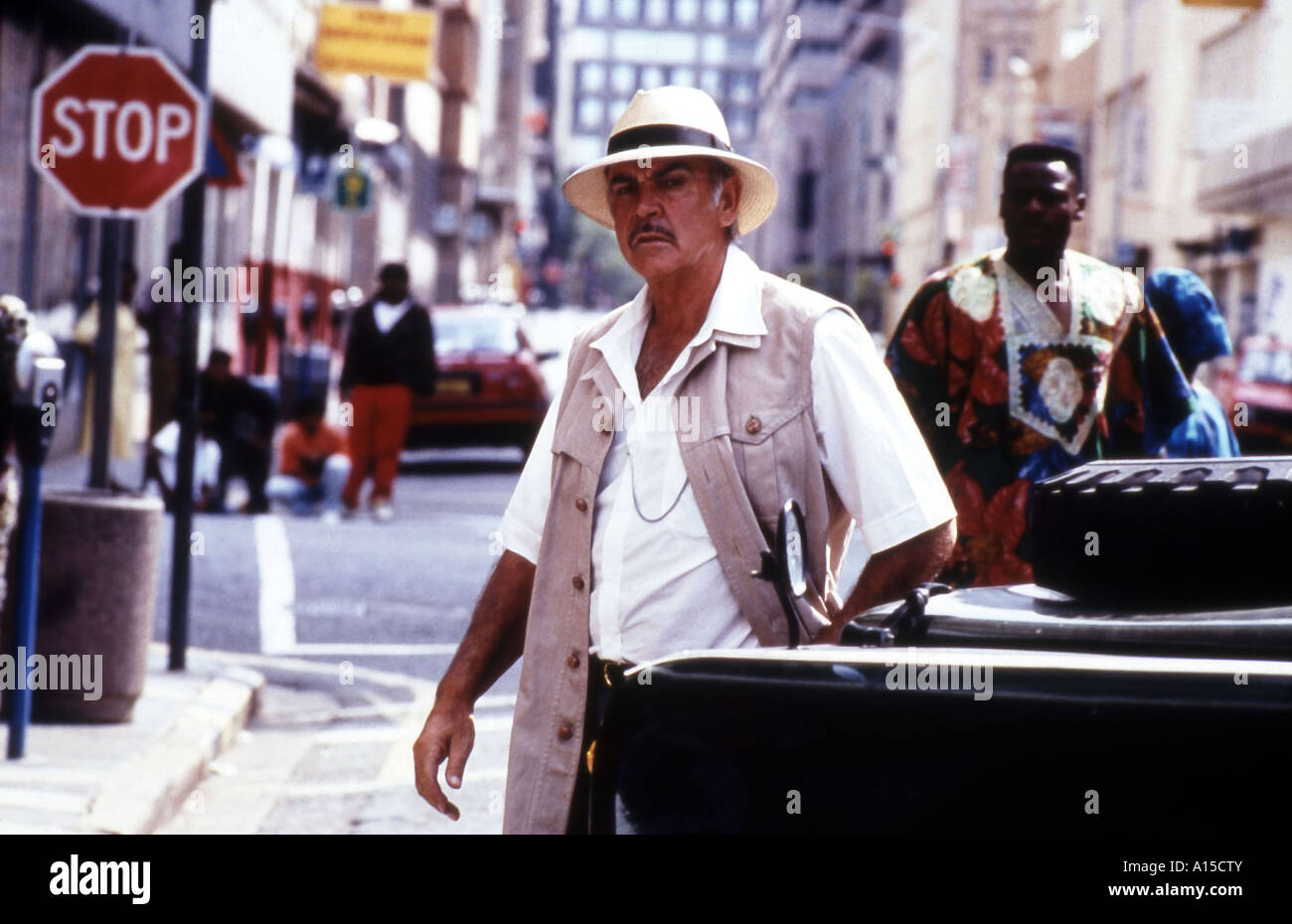 A Good Man in Africa Year 1994 Director Bruce Beresford Sean Connery After William Boyd Stock Photo