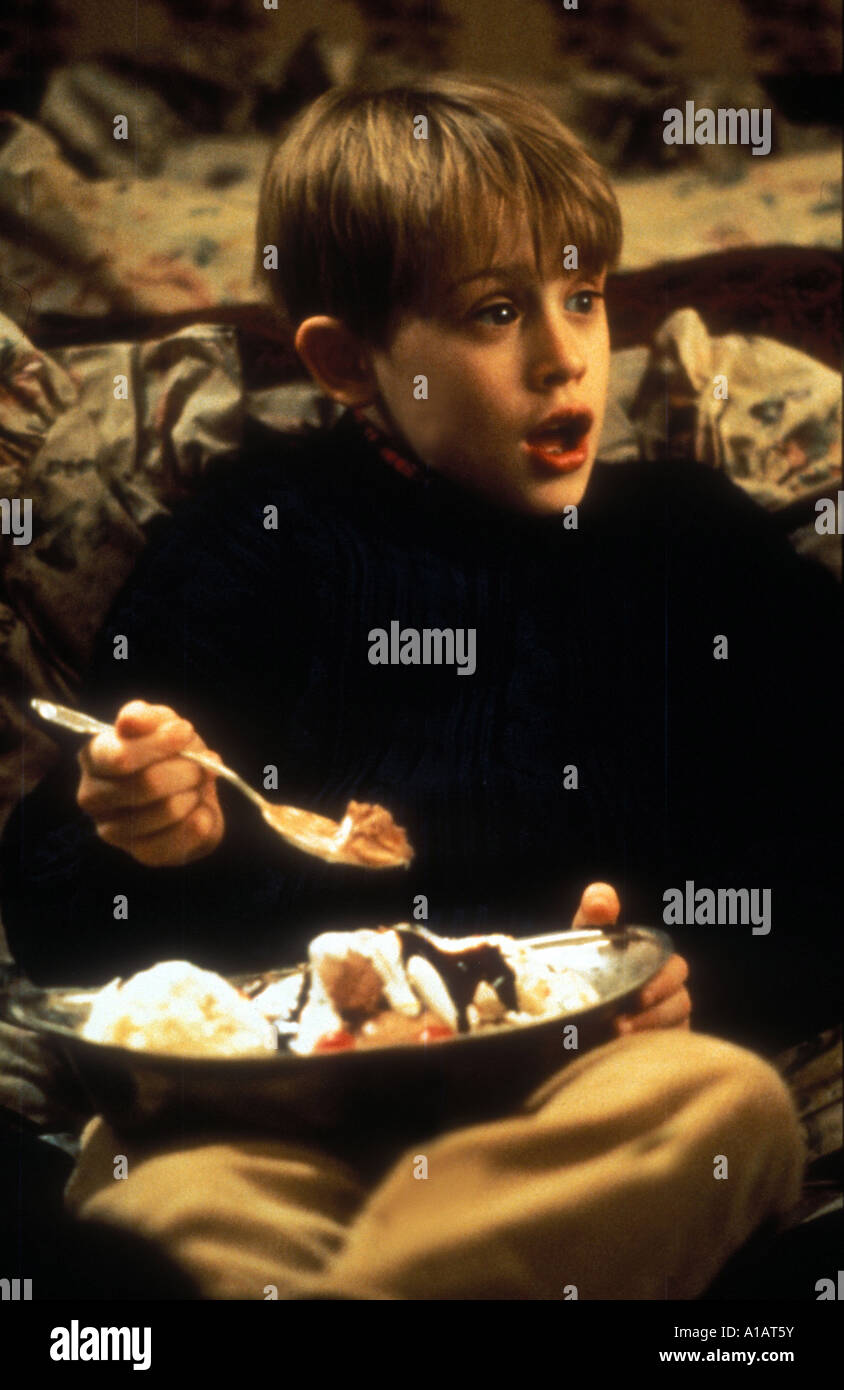 Home Alone 2 Lost in New York Year 1992 Director Chris Colombus Macaulay Culkin Stock Photo