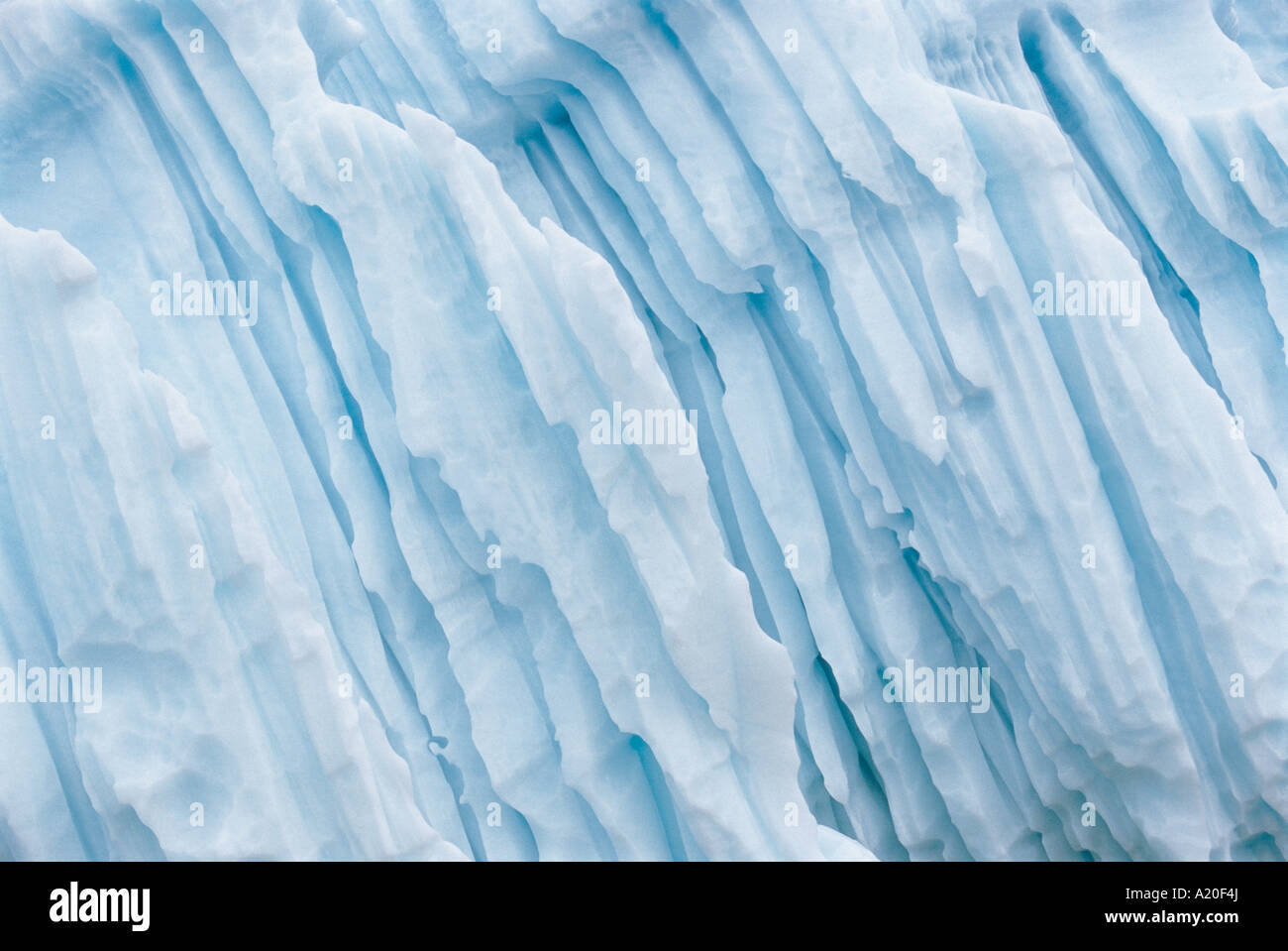 Ice Formation Stock Photo