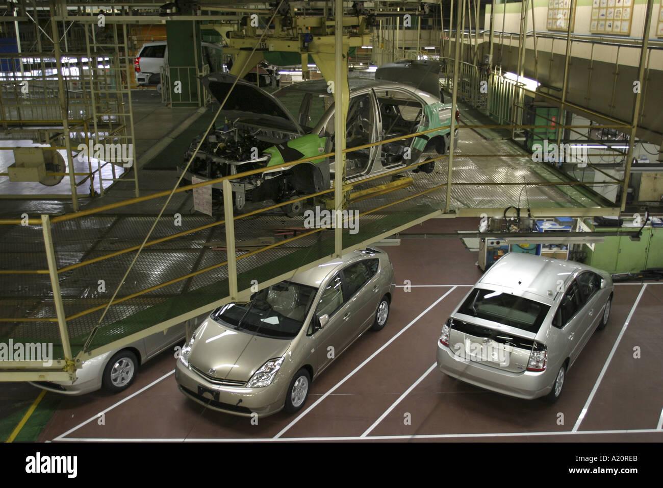Toyota Car Production Line Tsutsumi Factory Toyota City Nagoya