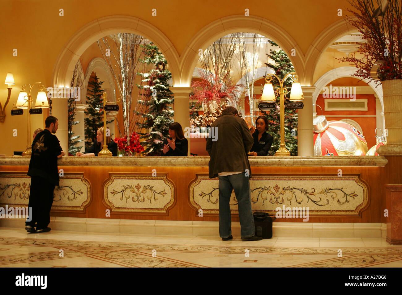 Perfect Reception Desk Bellagio Hotel And Casino Las Vegas Nevada USA Ideas