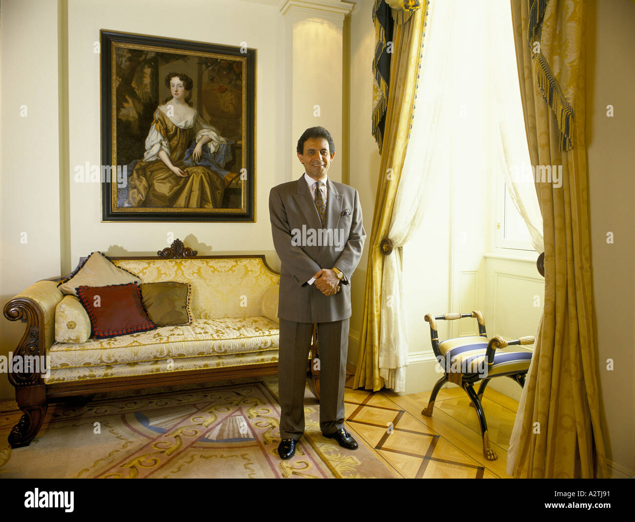 atef mankarios president of rosewood rosewood runs lanesborough hotel - Stock Image