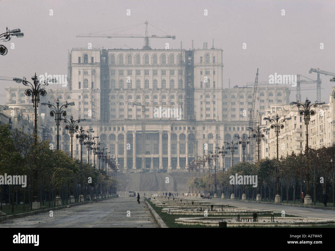 ceaucescu s romania the folly of the peoples palaceStock Photo