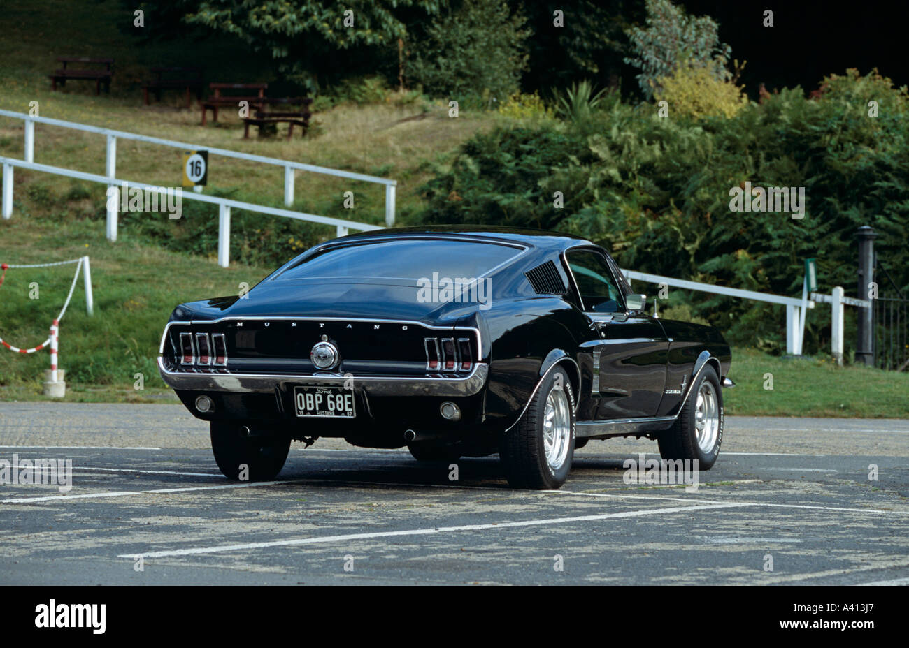 Ford mustang fastback of 1967