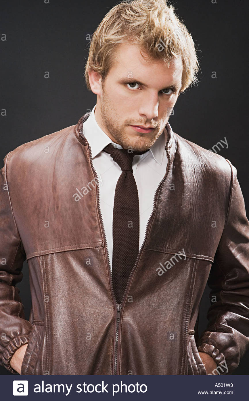 Trendy young man - Stock Image