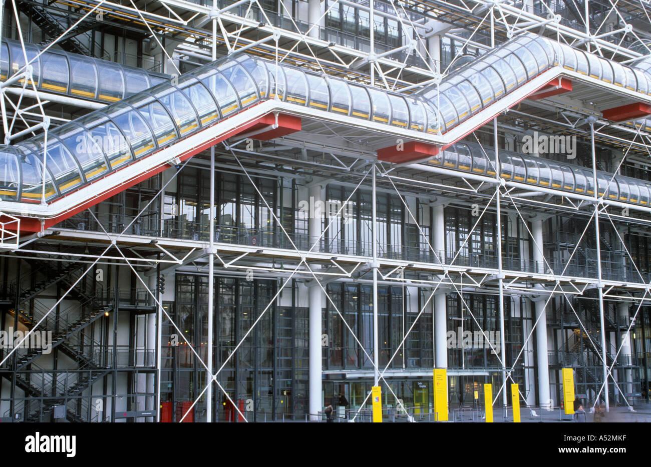 Pompidou Centre, Paris, France Stock Photo