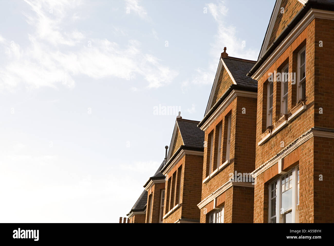 Building and sky - Stock Image