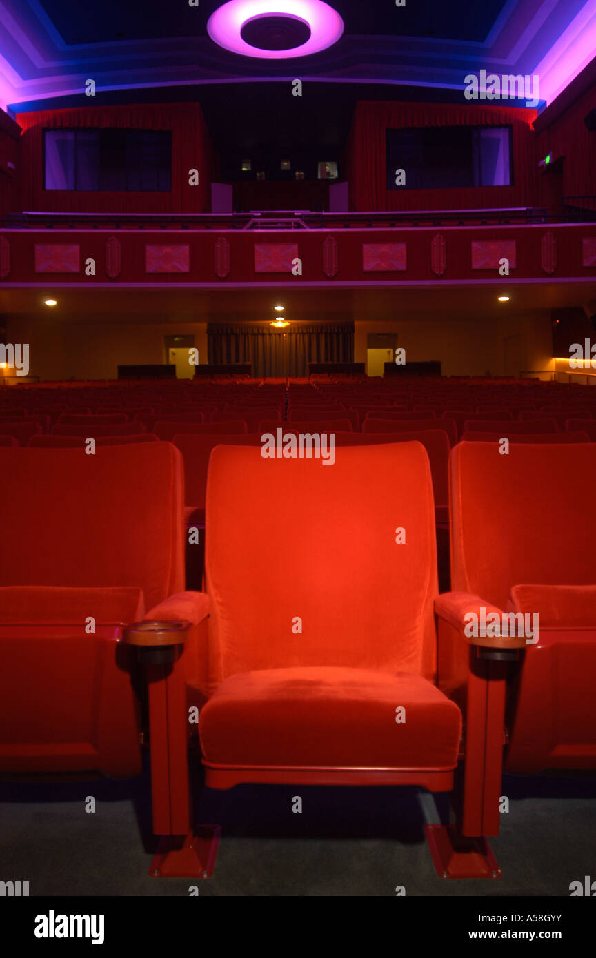 Theater Cinema Seating - Stock Image