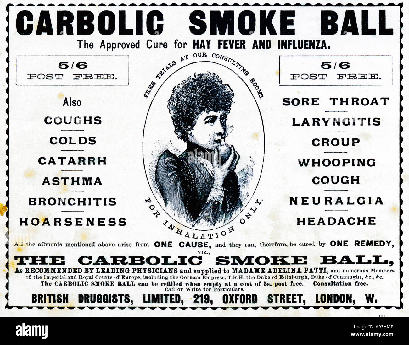 carbolic smoke ball for sale