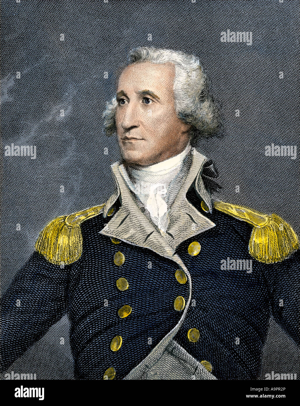 General George Washington - Stock Image