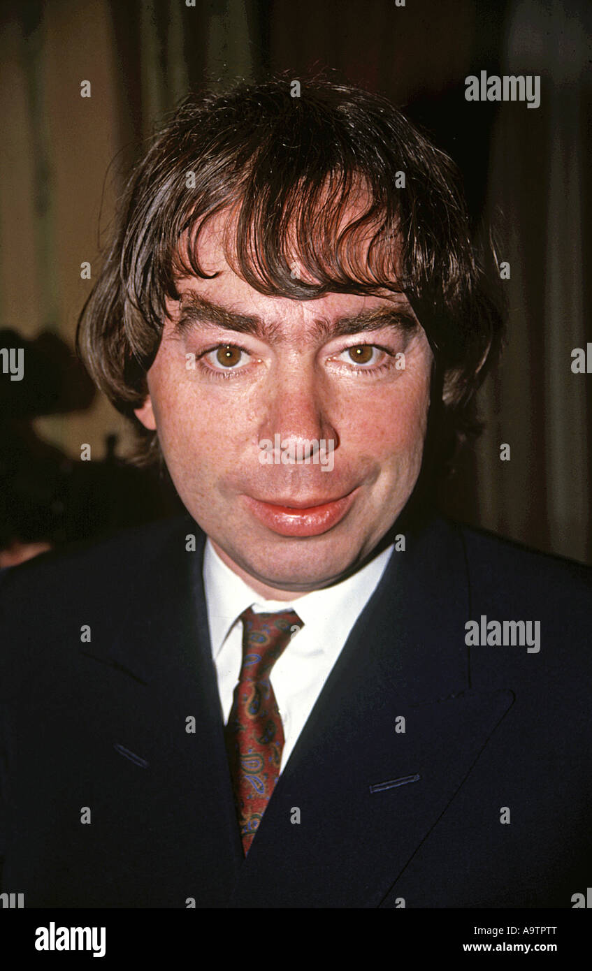 ANDREW LLOYD WEBBER - UK composer and theatrical producer - Stock Image