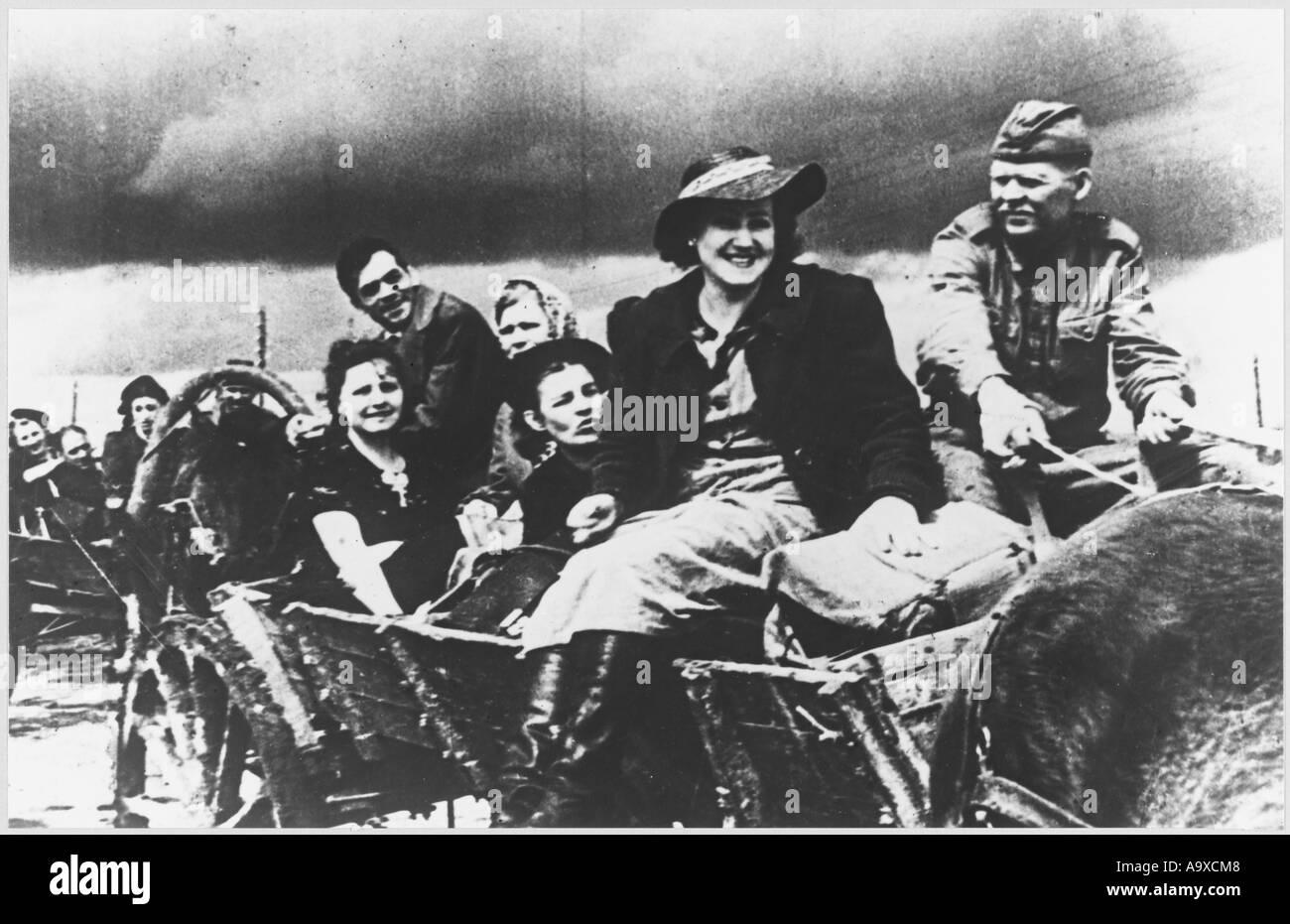 Russian Actors In War - Stock Image