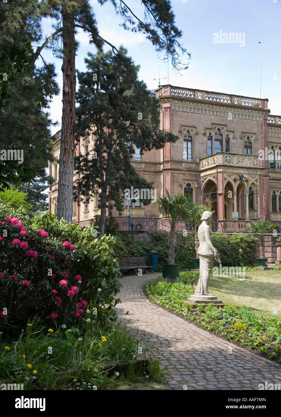 Freiburg Villa museum landmark freiburg germany stock photos museum landmark