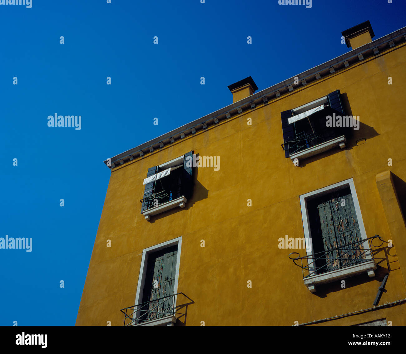 house at the Campo San Vidal, Venice, UNESCO World Heritage Site,  Italy,  Europe. Photo by Willy Matheisl Stock Photo