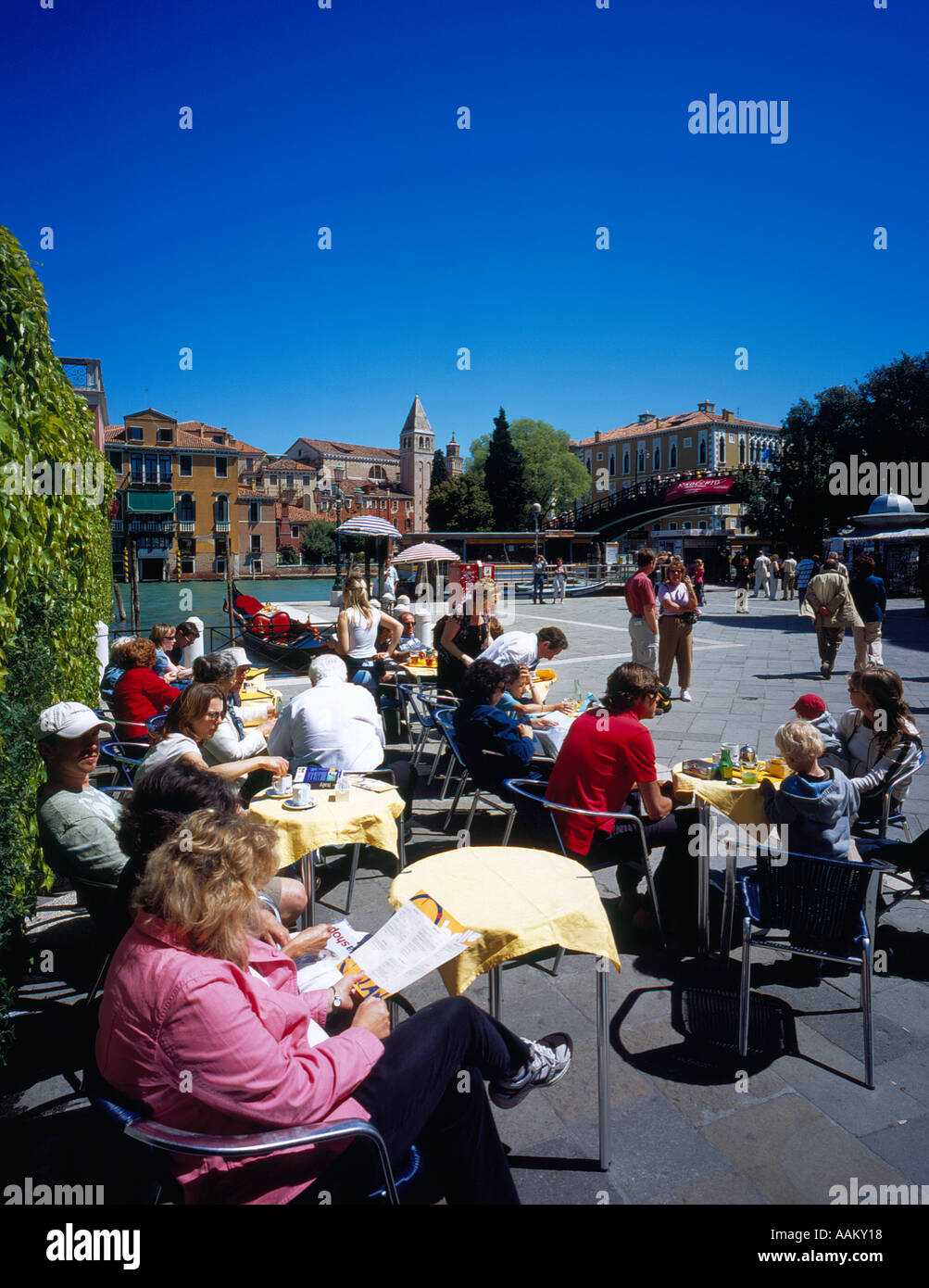 Campi d Carita Accademica,  Venice, UNESCO World Heritage Site, Italy,  Europe. Photo by Willy Matheisl Stock Photo