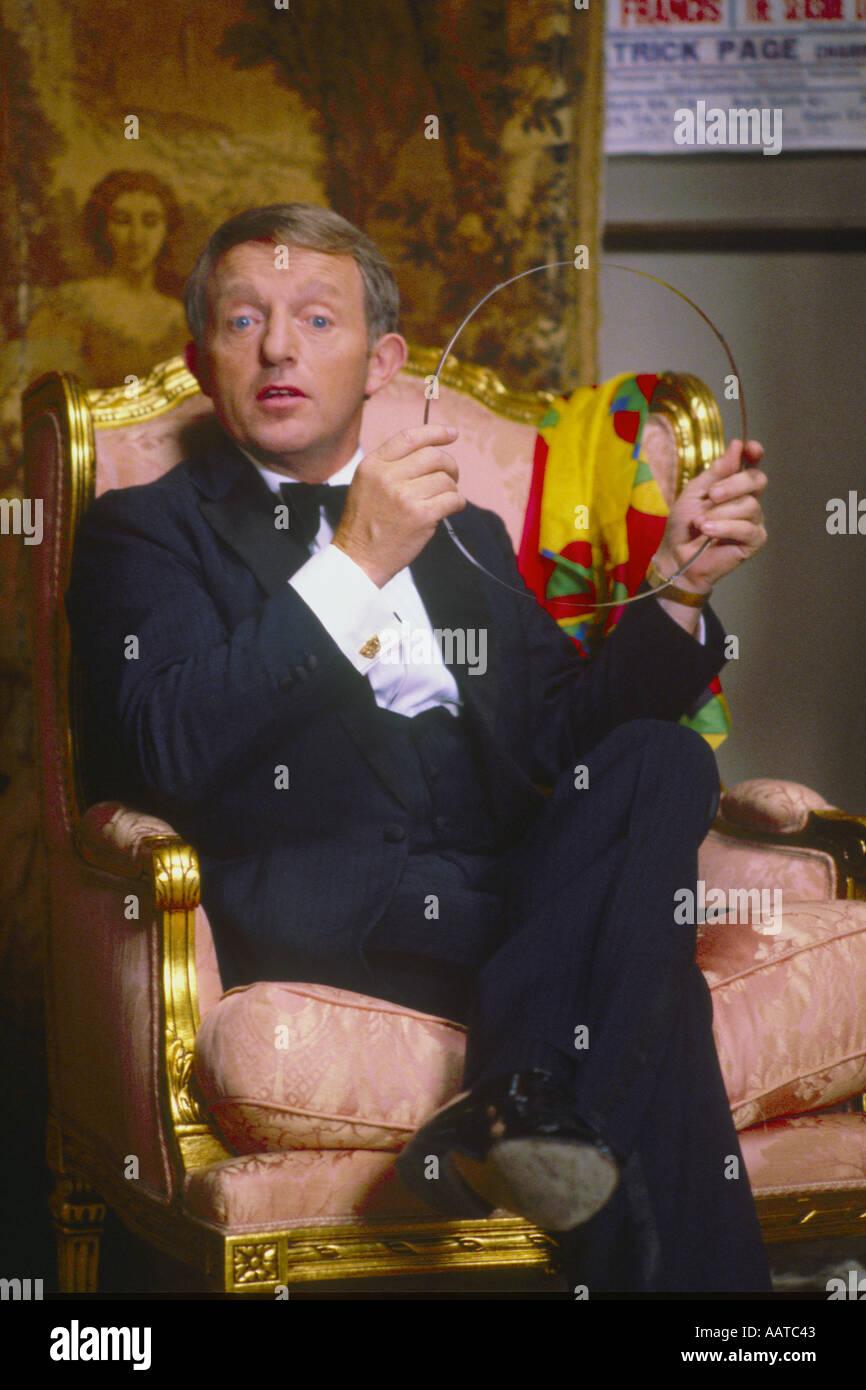 Paul Daniels magician and entertainer PER0071 - Stock Image