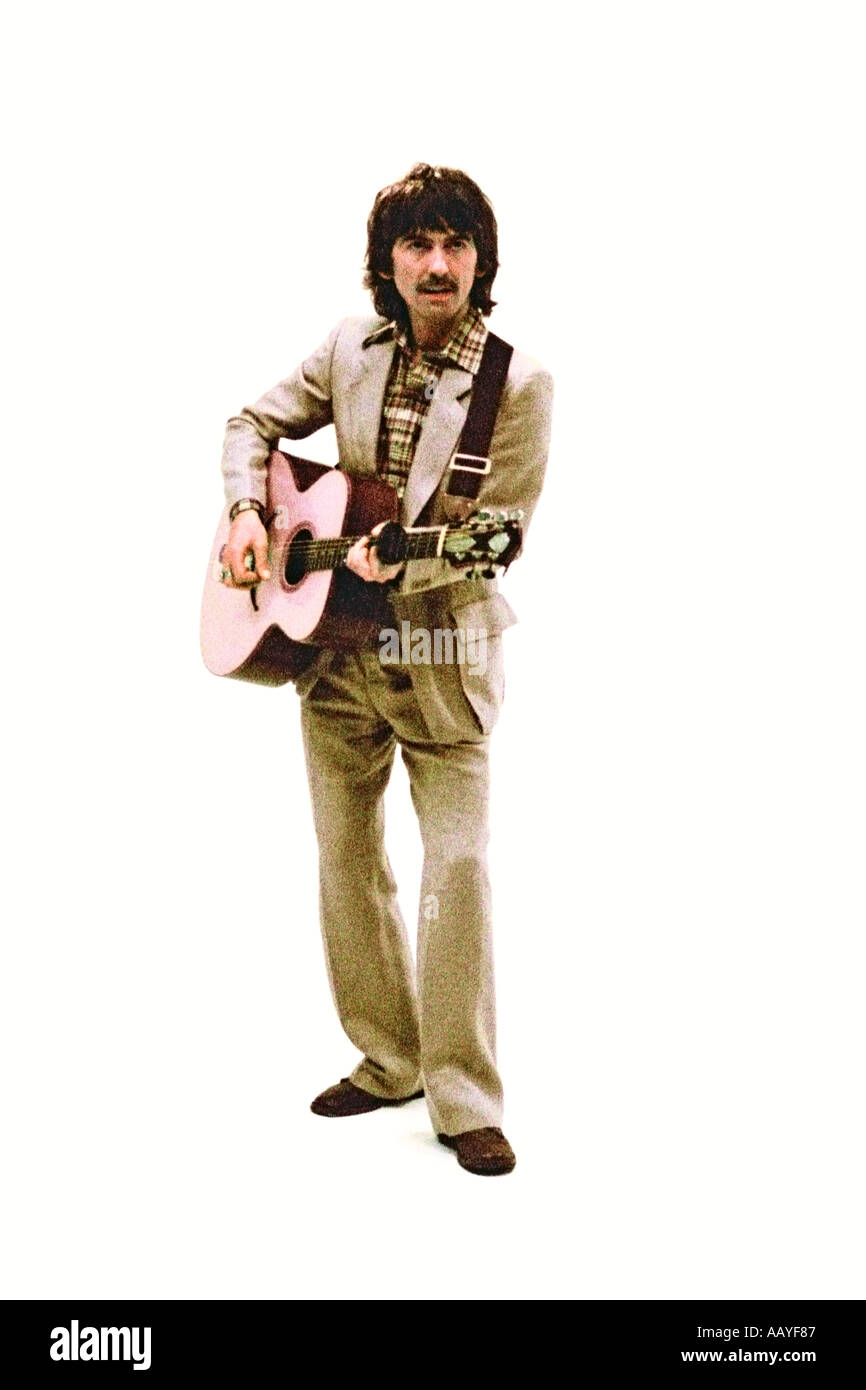George Harrison making music video for his single Blow Away 1978. PER0045 - Stock Image