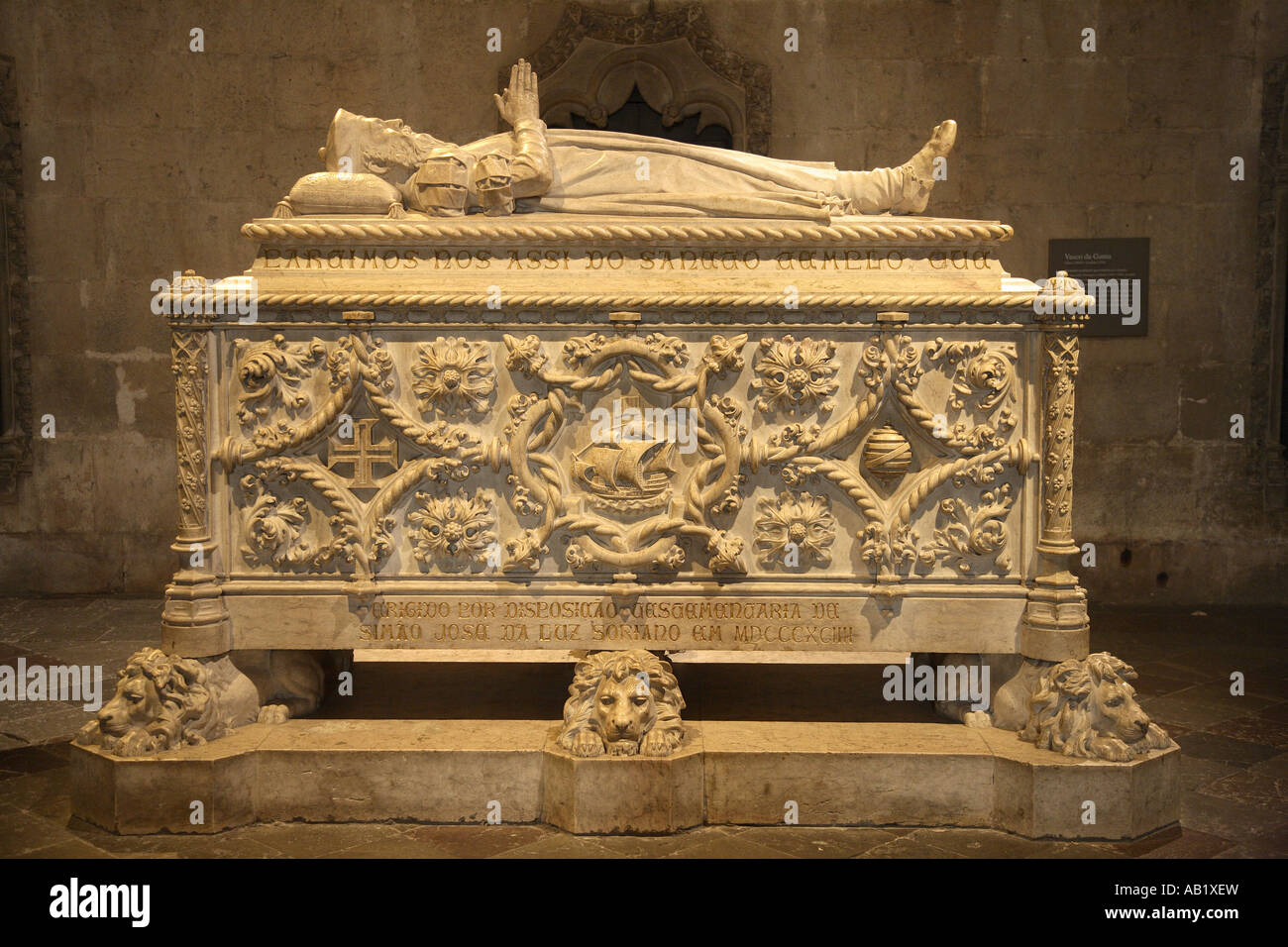 d584a16c8416e Burial place of Vasco da Gama
