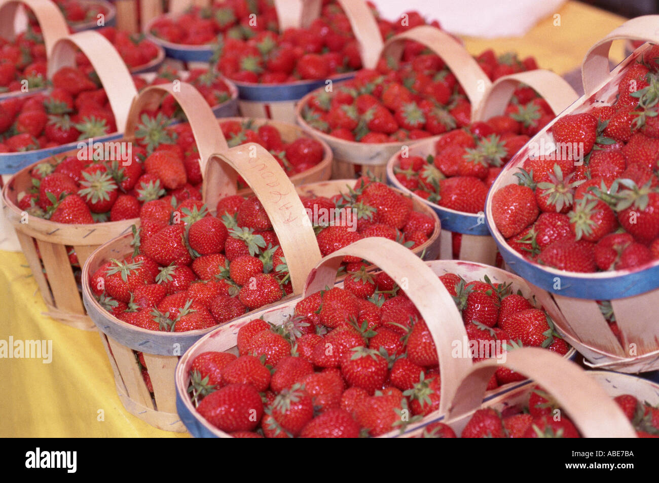 Market stall, Aix-en-Provence - Stock Image