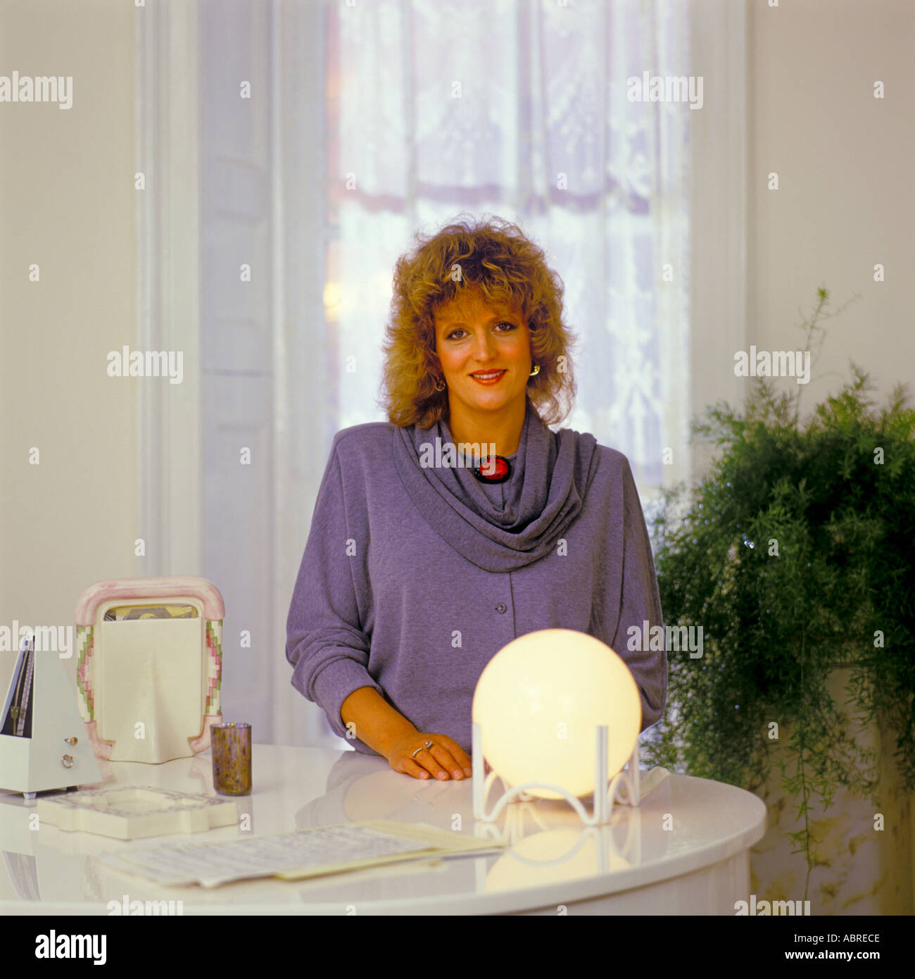Barbara Dickson OBE singer and musical actress photographed 1985 PER0076 - Stock Image