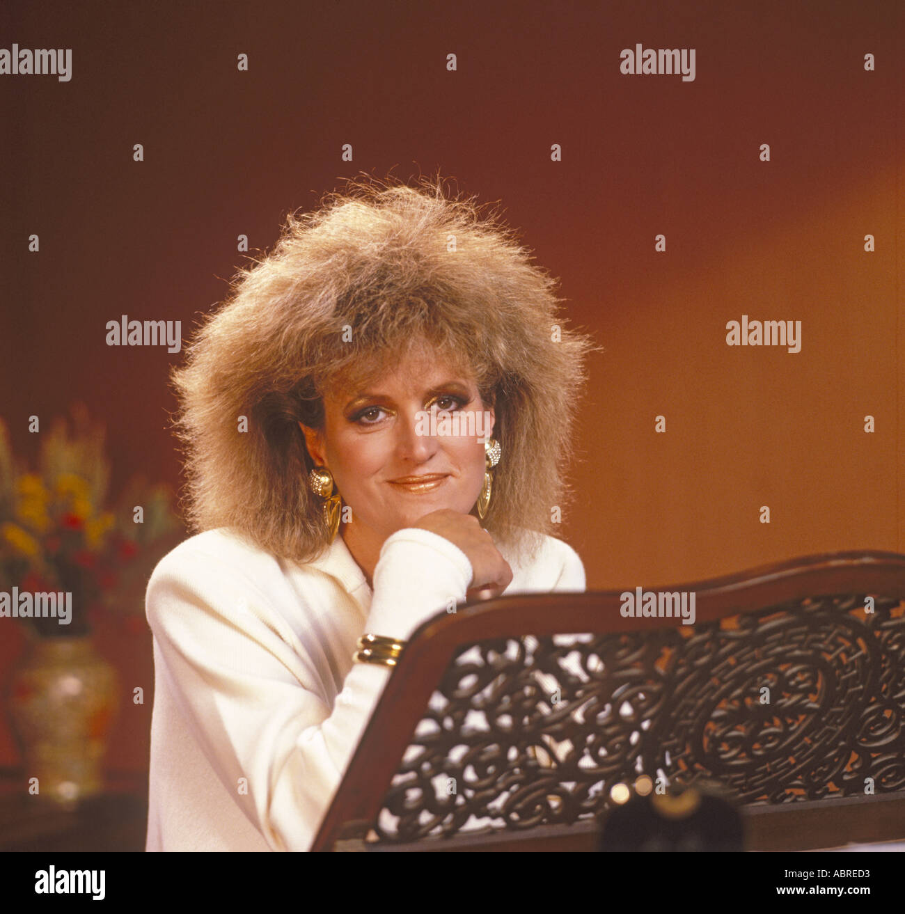 Barbara Dickson OBE singer and musical actress photographed by John Henshall FRPS. PER0079 - Stock Image