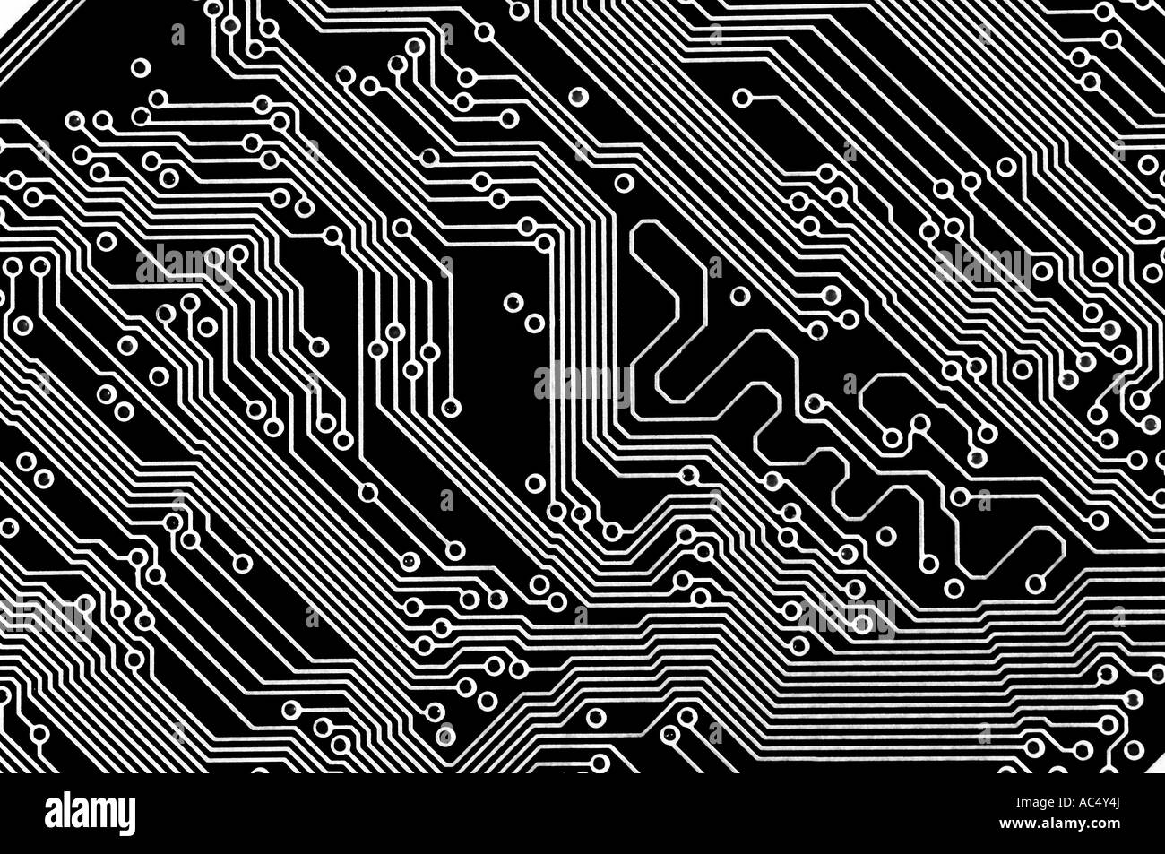 circuit board abstract black and white stock photo 13042337 alamy