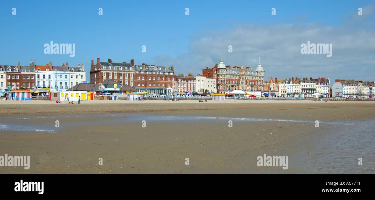 Weymouth seafront - Stock Image