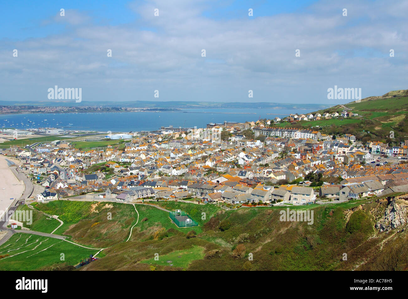 Fortuneswell Portland Dorset - Stock Image