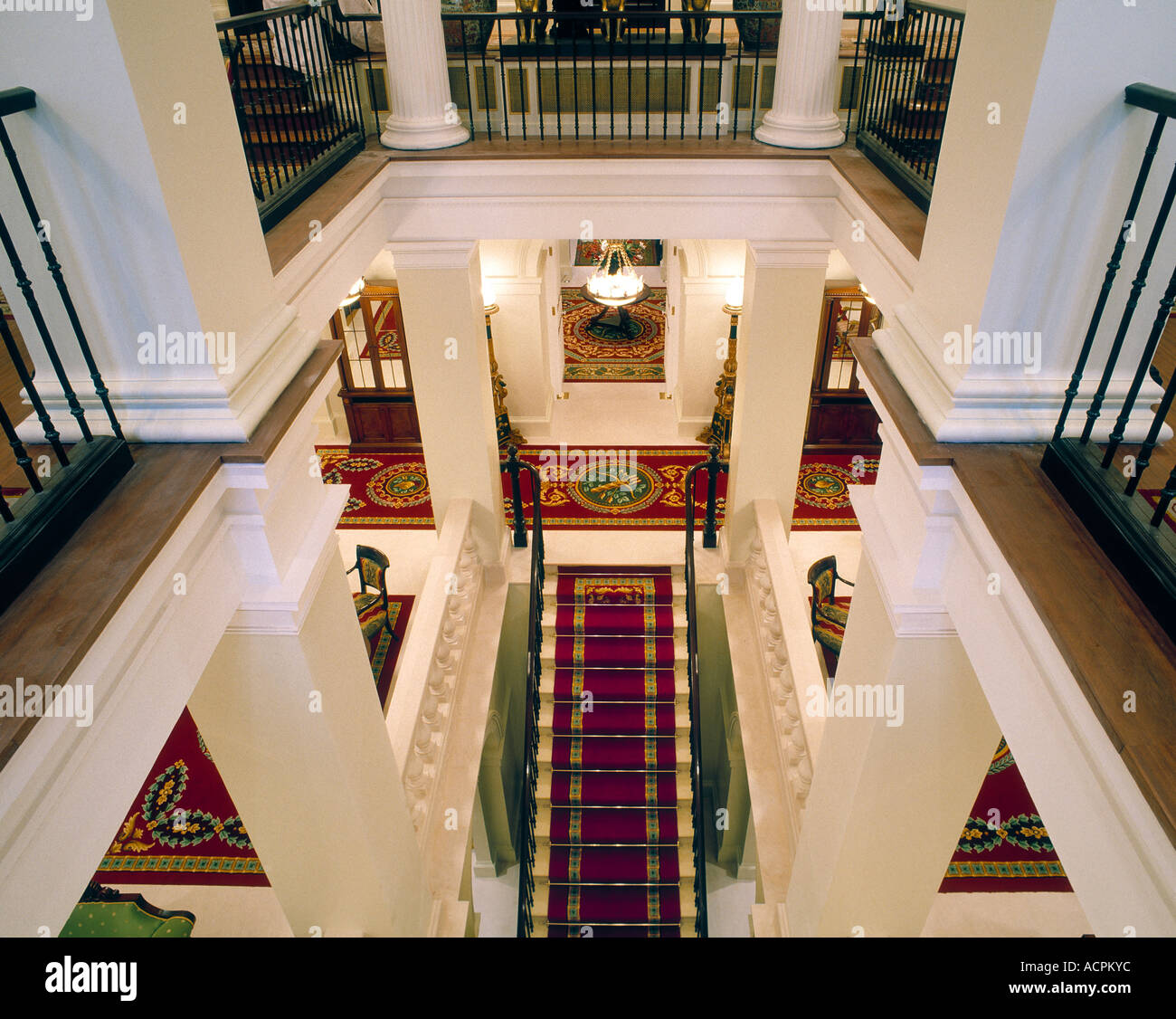 Interior at the Lanesborough Hotel London - Stock Image