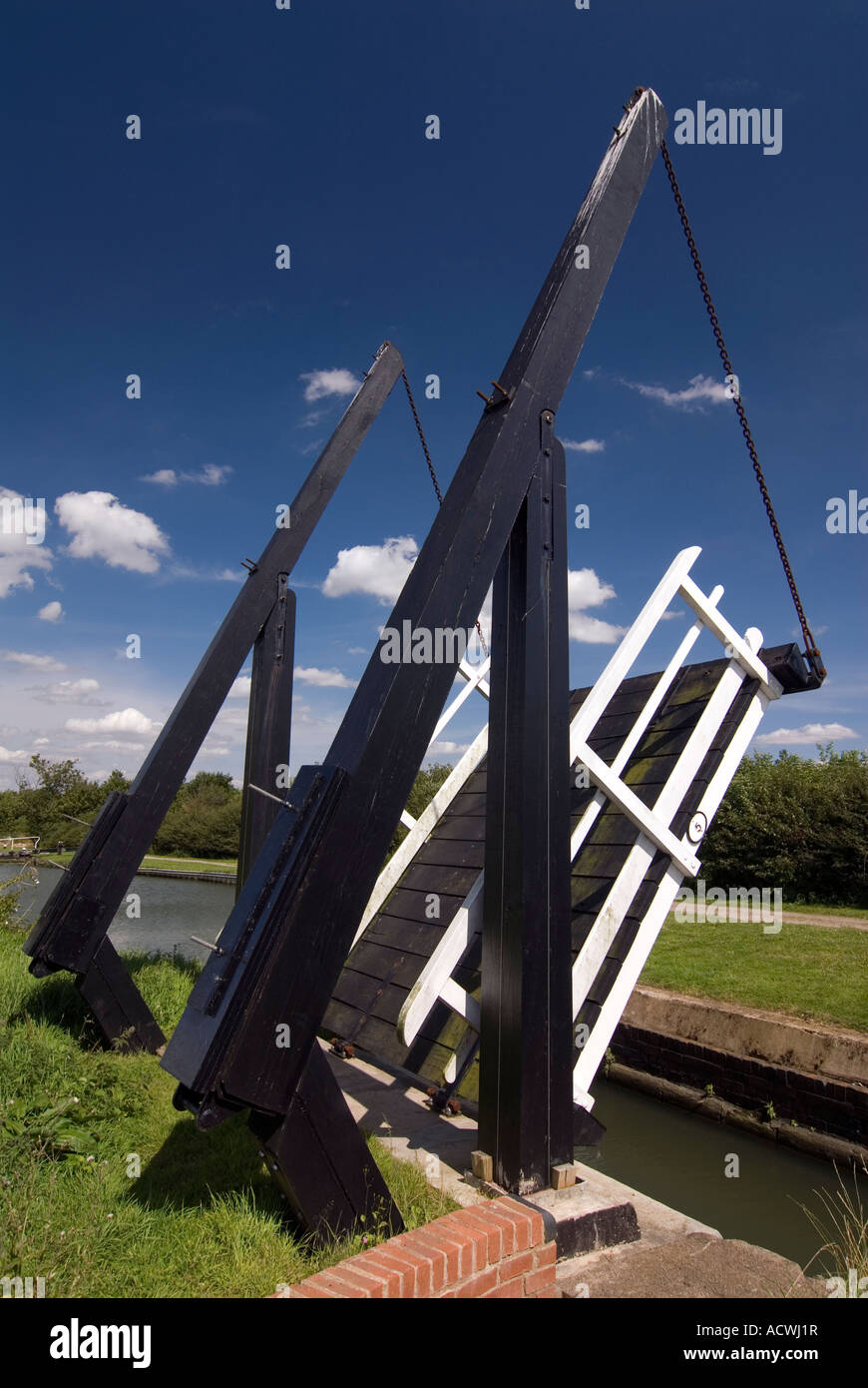 Doug Blane The Northampton arm of the Grand Union canal - Stock Image