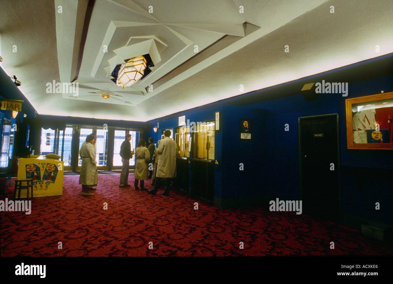 Art For Foyer : Art deco ornate ceiling foyer entrance of adelphi theatre london