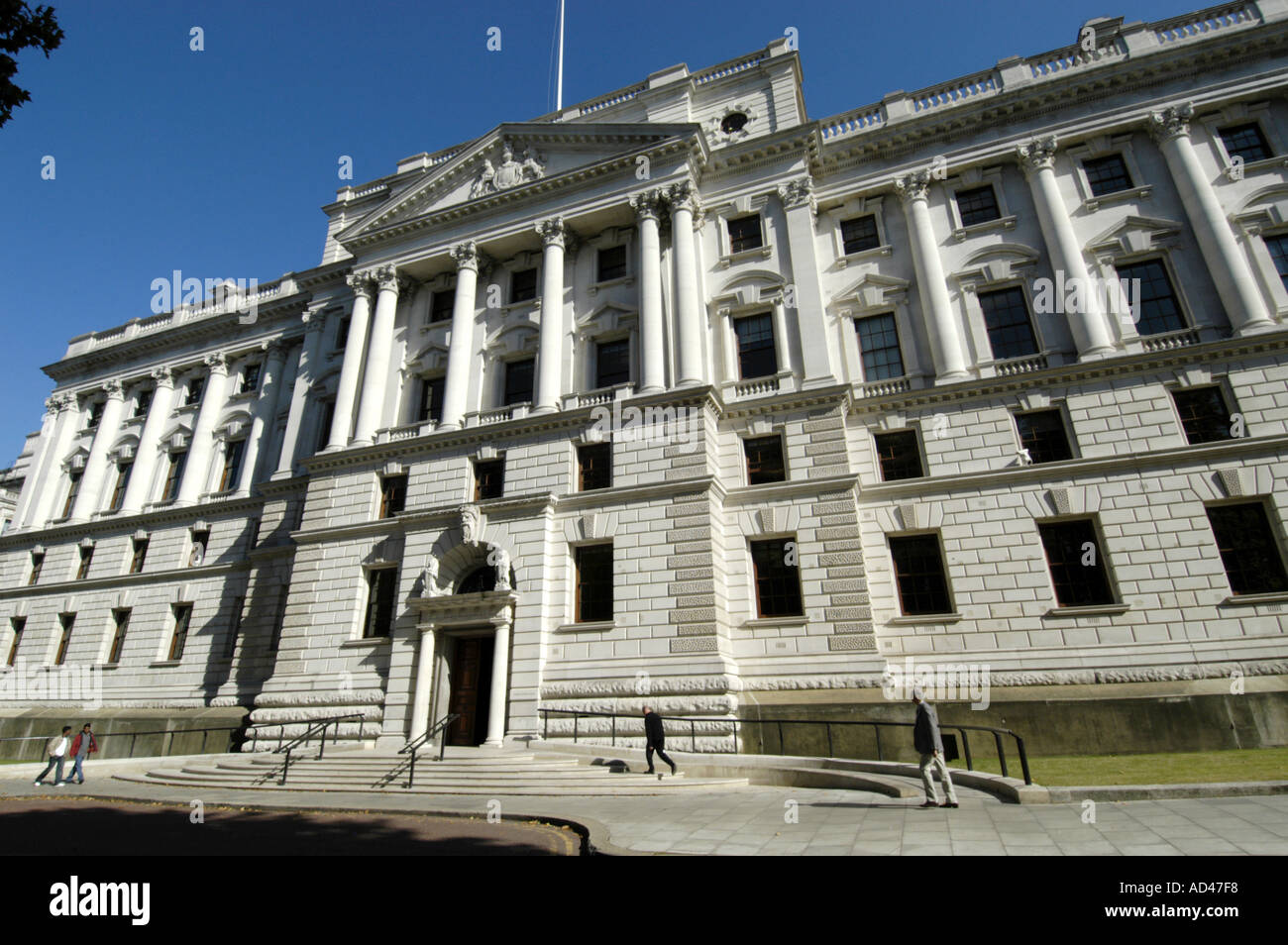 The Treasury London England UK Stock Photo