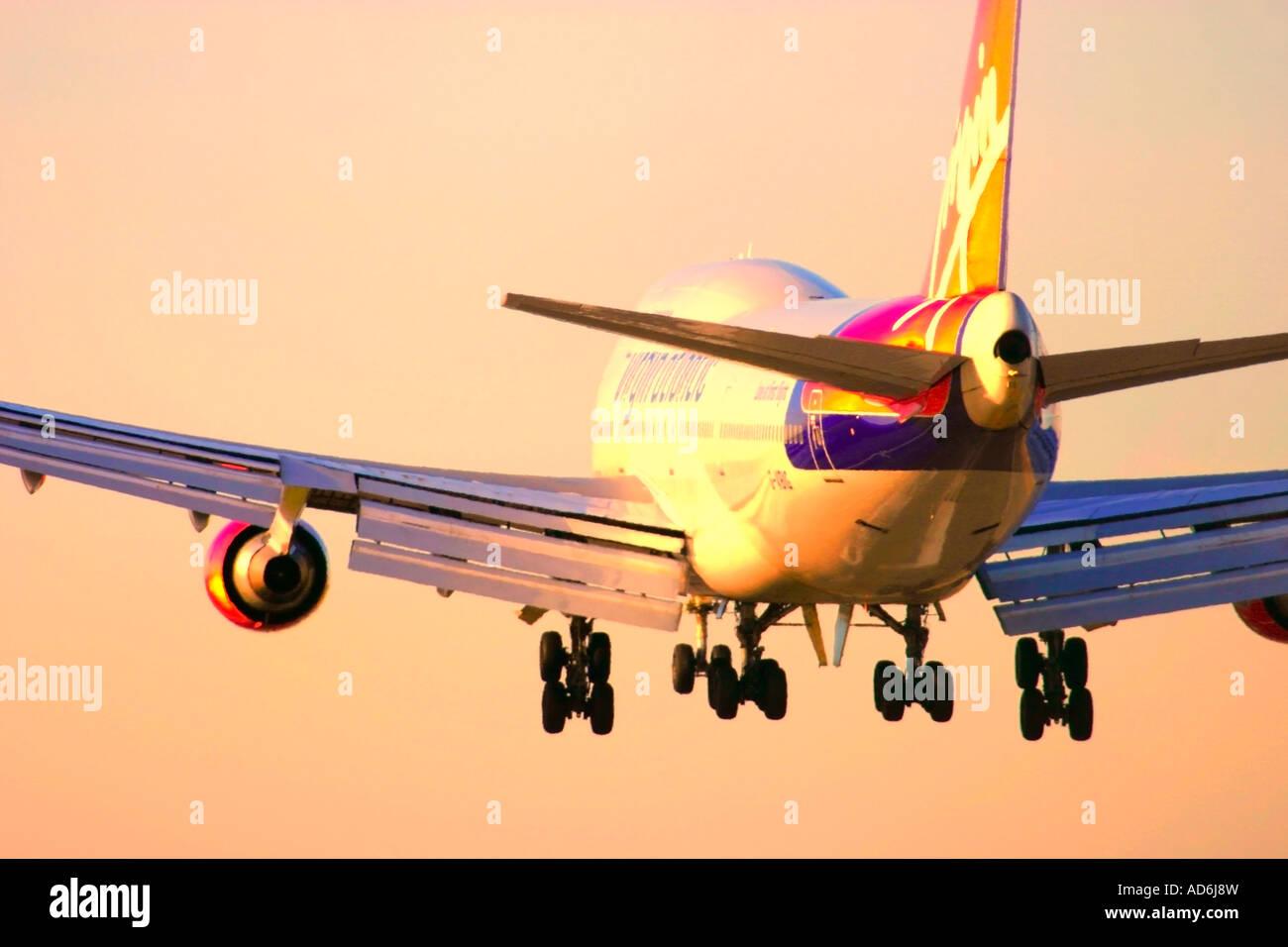 Virgin Atlantic Airways aeroplane - Stock Image