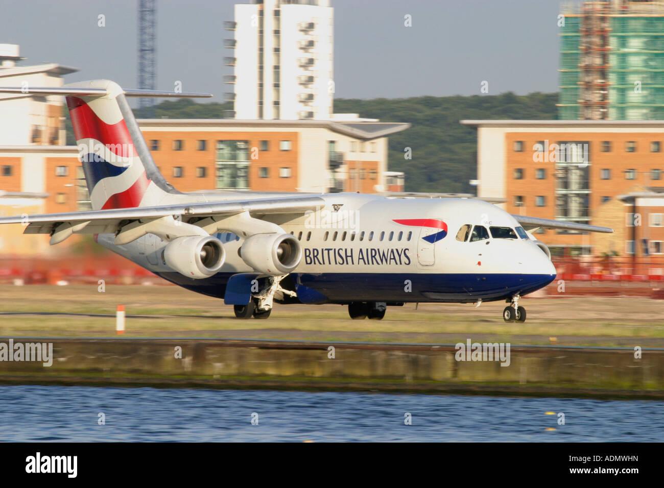 British Airways regional jet - Stock Image