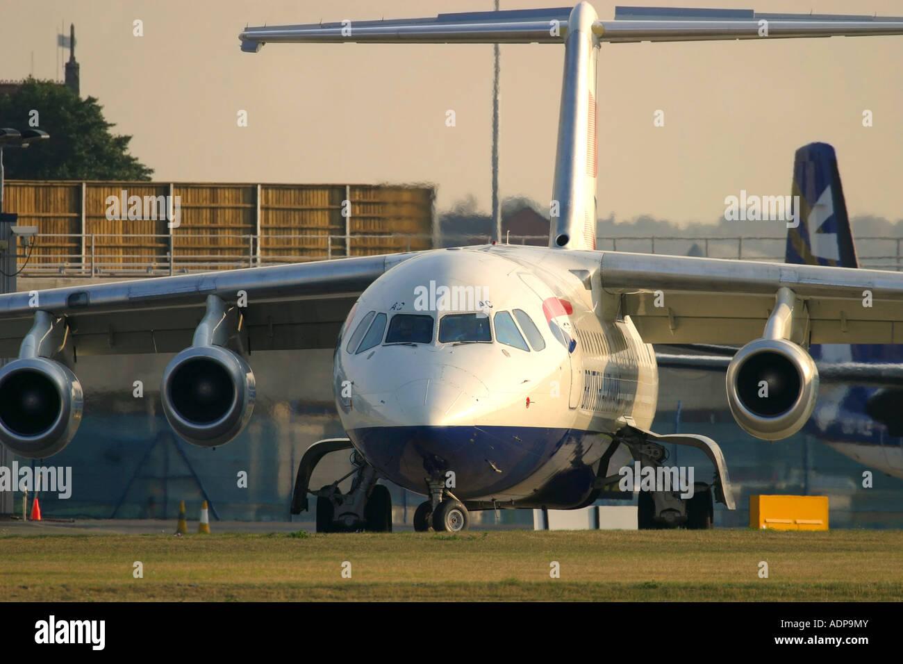 British Airways regional plane - Stock Image