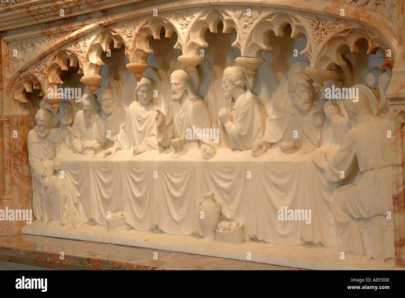 Enchanting Last Supper Sculpture Wall Art Adornment - Wall Art ...
