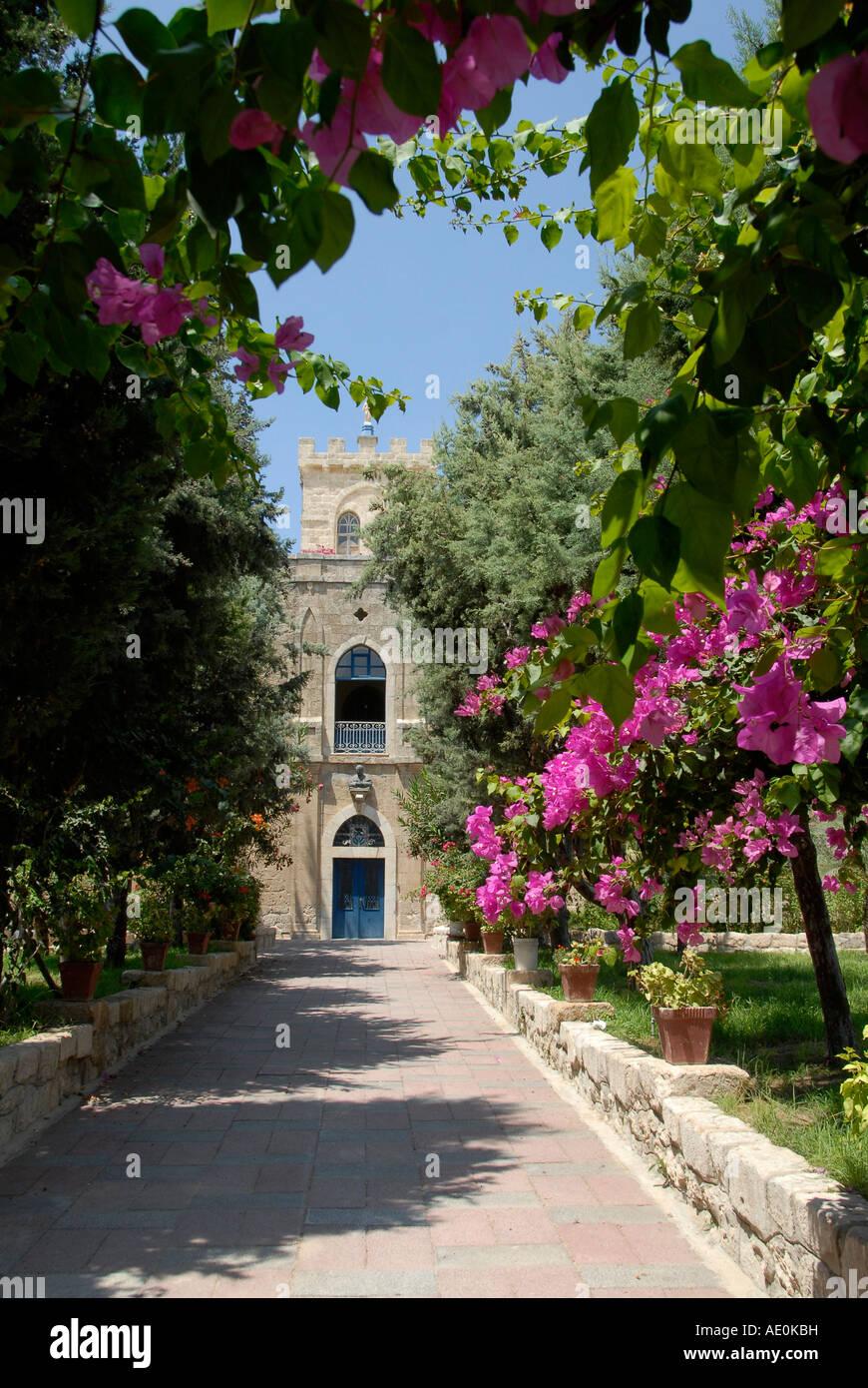 Beit Jimal (Bet Gamal) monastery in Israel - Stock Image