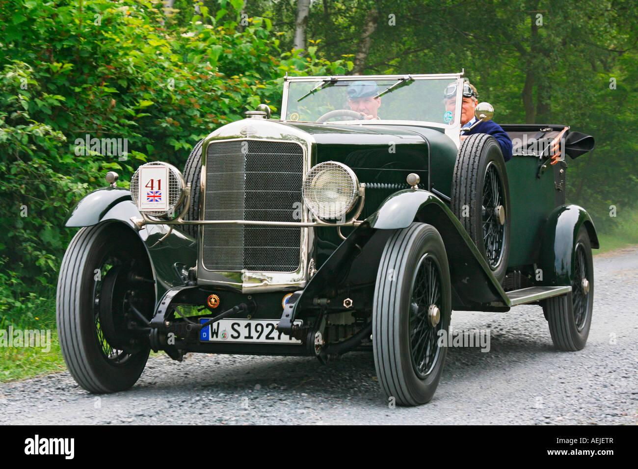 Vintage car Sunbeam 30 HP 90 Open Sports Tourer 1927 in british ...