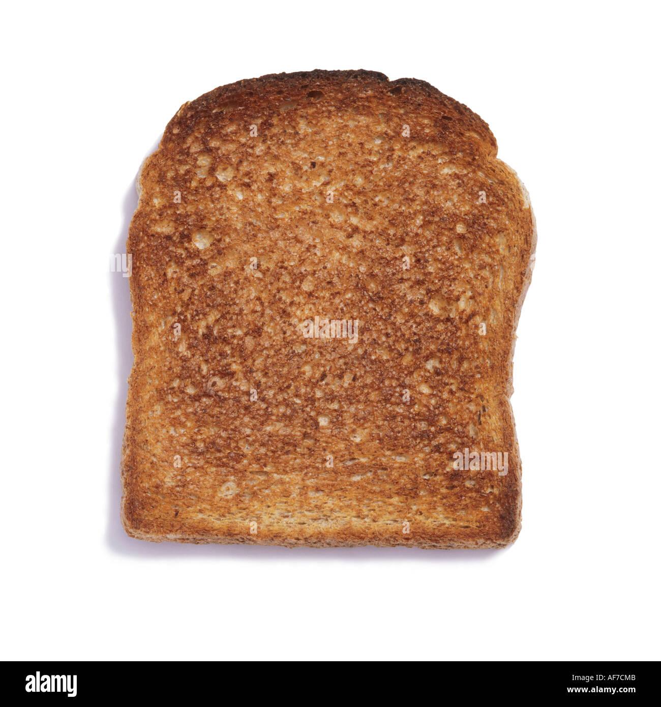 a slice of toast stock photo 7917642 alamy
