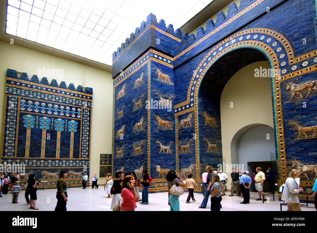 ishtar gate 580 bc neo babylonian empire babylon 6th century b c
