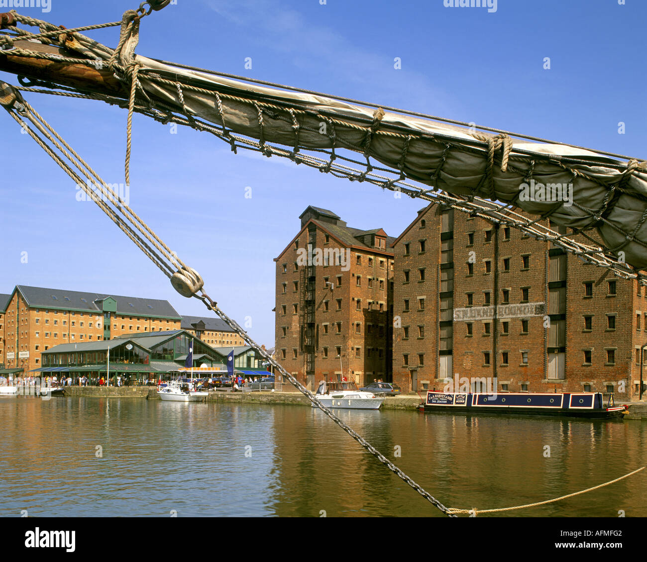 GB - GLOUCESTERSHIRE:  Historic Gloucester Docks - Stock Image